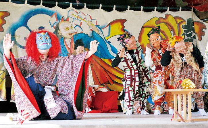 三浦市重要無形民俗文化財「いなりっこ」奉納【海南神社】
