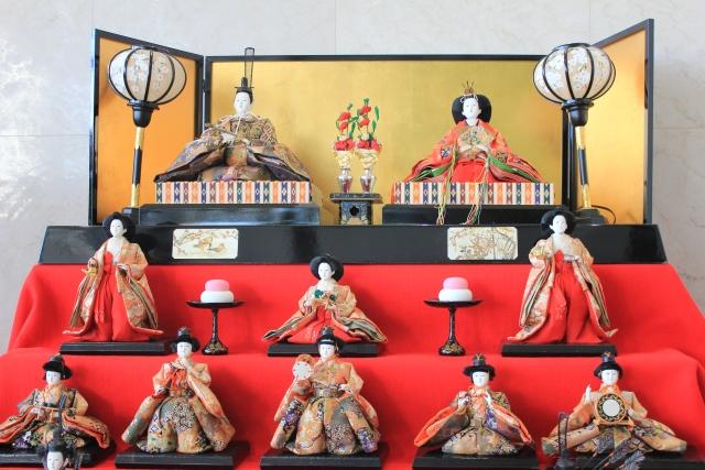 ひな人形飾りと呈茶会@本郷ふじやま公園