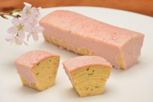 2種のさくら餅を食べ比べるのも楽しい!「和菓子菜の花」に春の訪れ