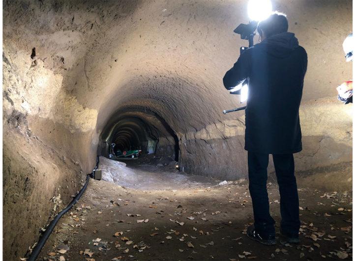 高座海軍工廠芹沢地下壕のVR上映ほか・郷土講演会「戦争遺跡研究の進め方」
