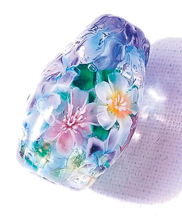 Glass Jewellry Veil 塚本昭子作品展@湘南ギャラリーえん