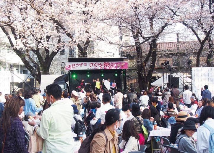 「おださがさくら祭り」小田急相模原グルメが集結!縁日やステージも