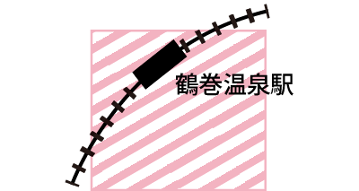 鶴巻温泉南町商店会マップ