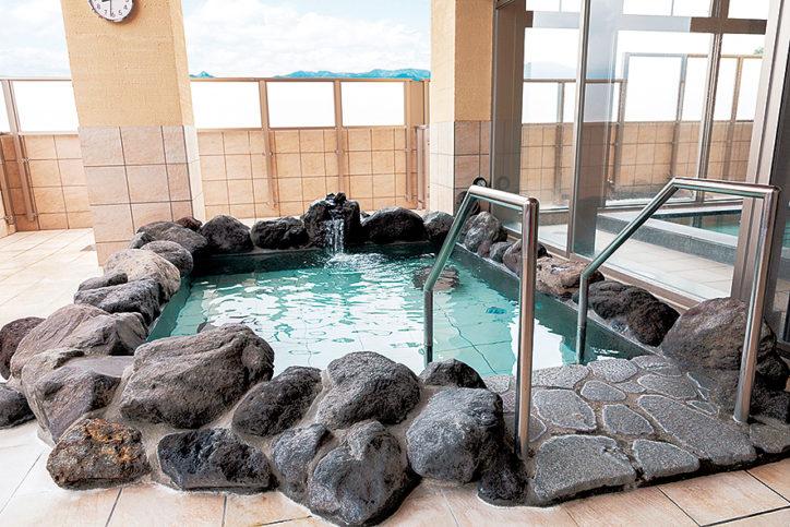 【名水はだの富士見の湯】名水の湯でほっこり