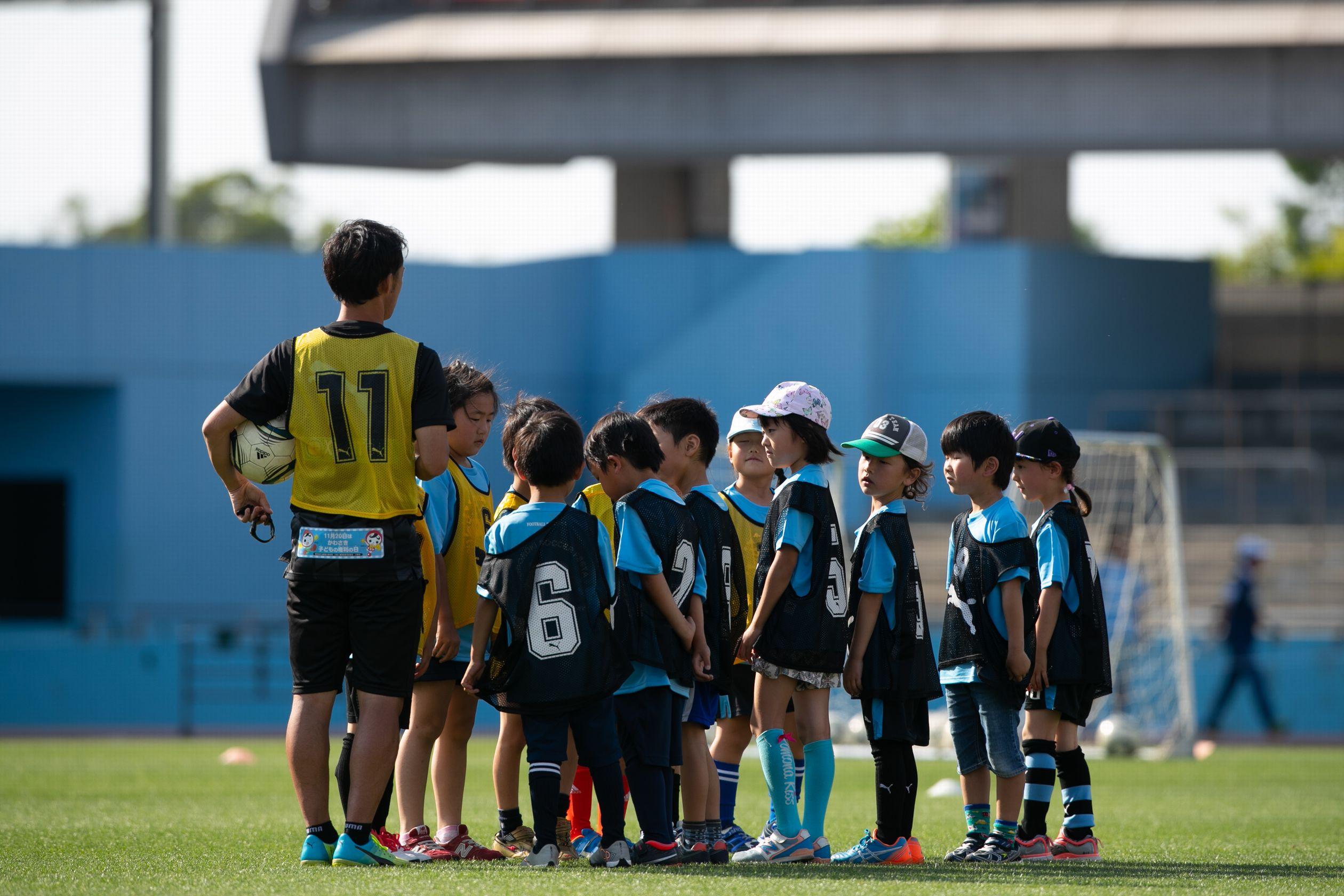 「等々力サッカーフェスタ2019」川崎F普及コーチによるサッカー教室など@等々力競技場【申込5月7日迄】