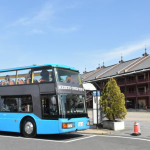 2階建バスでみなとみらい観光!横浜駅発着、京急のオープントップバス運行開始 夜景便も