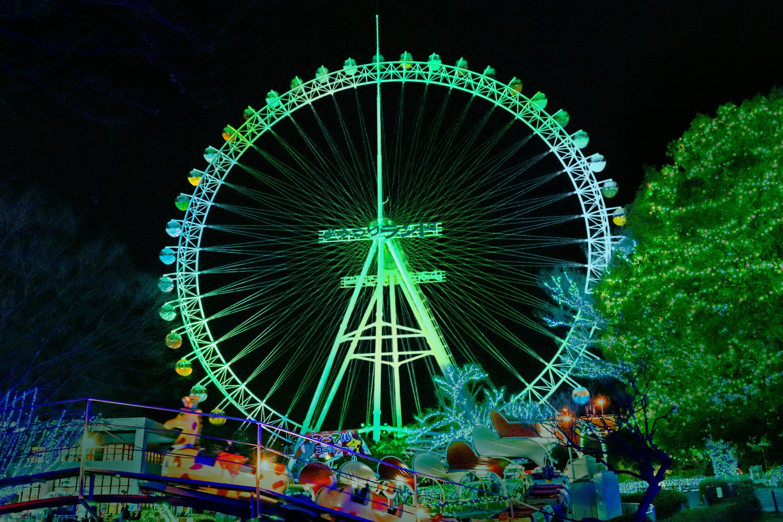 【読プレ付き】GW期間中に『新緑ジュエルミネーション』フィナーレ開催@よみうりランド