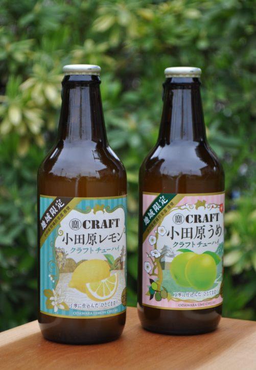 果汁をぎゅっと搾った、宝酒造ご当地クラフトチューハイ。「小田原レモン」に続き「小田原うめ」も大人気