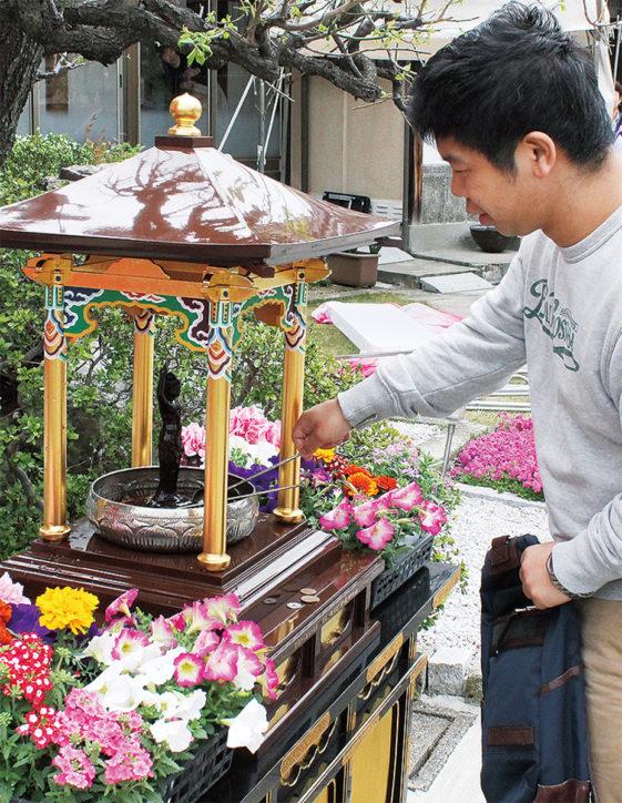 鶴見区仏教会「花まつり」@慶岸寺