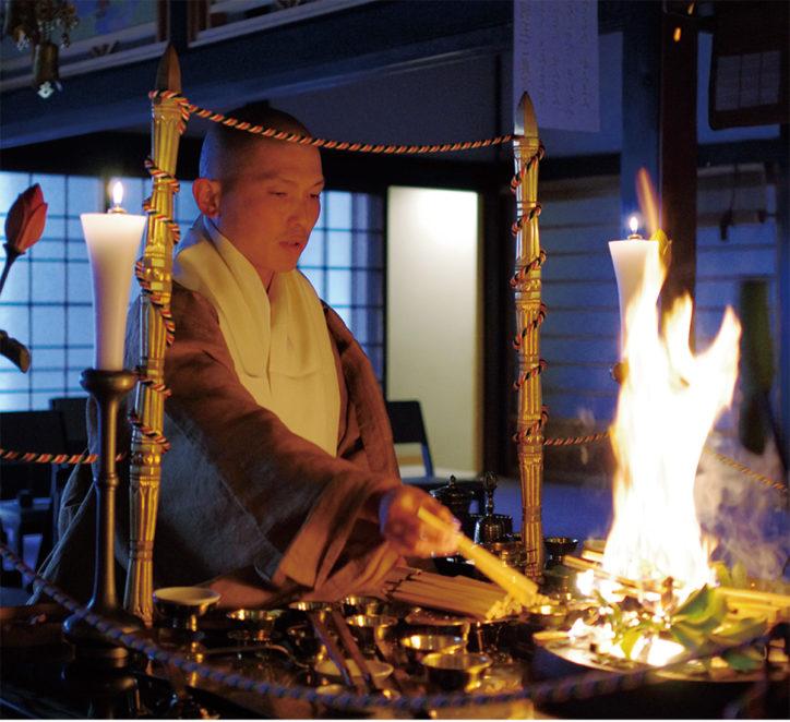 改元の日 祈り捧げる「八千枚大護摩供」第2回「福の市」同時開催@葉山町長運寺