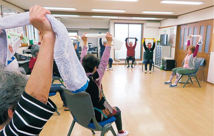 毎月第1、3月曜日開催「六ツ川元気アップ教室」