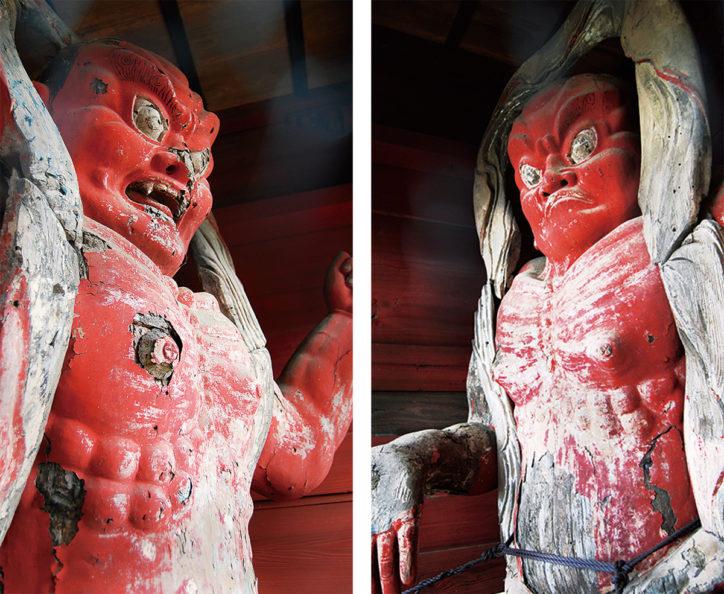 日本仏像史における蓑毛宝蓮寺の仏像~金剛力士立像を中心に~