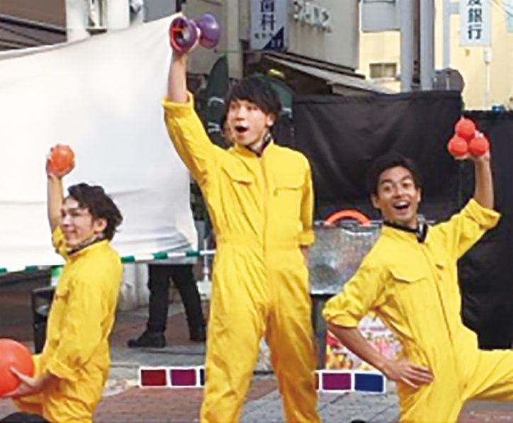 『ヨコハマ大道芸』みなとみらい、石川商店街、イセザキモール、横浜駅東口など各所で