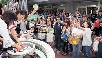 園舎取り壊し前に「卒園のつどい」あざみ野白ゆり幼稚園(横浜市)タイムカプセル展示も