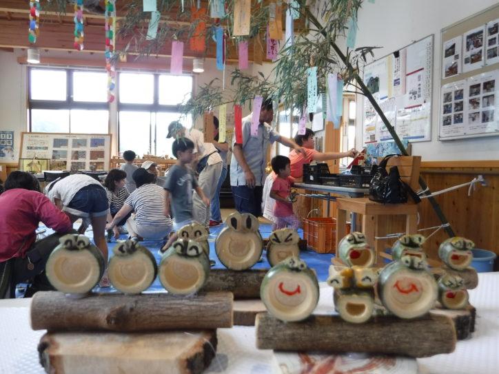 自然に親しむ「七夕飾りと竹細工教室」参加無料!@いせはら塔の山緑地公園