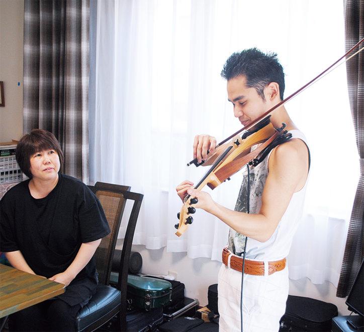 「脳性まひのヴァイオリニストを育てて」著者 式町啓子さんを迎えてブックトーク【小田原市】