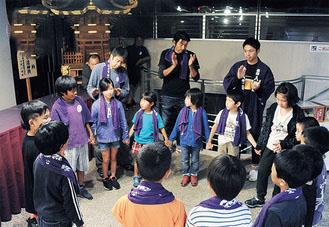 令和元年「鈴鹿明神社 宵宮祭・例大祭」子ども神輿の練習はじまる《座間市》