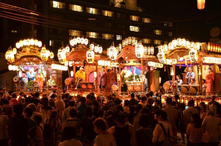「つくい中野夏祭り」1トンを超える大御輿は圧巻!【相模原市緑区中野地区】