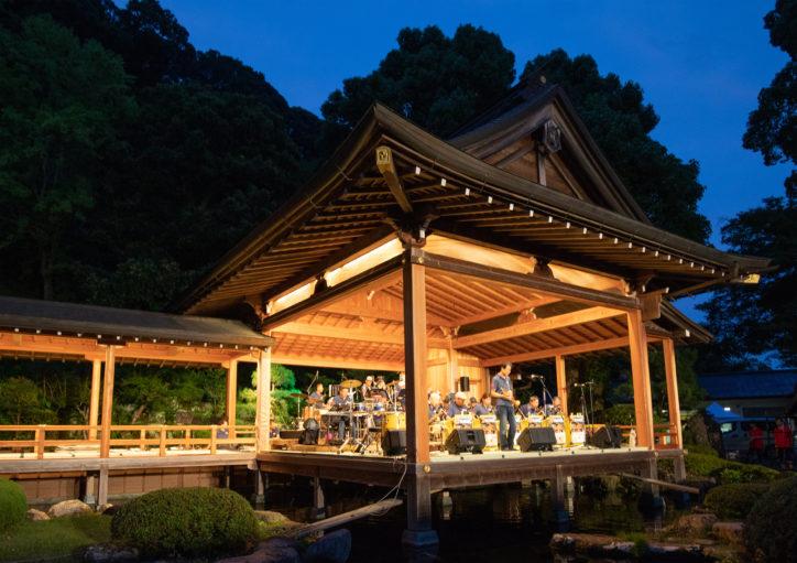 「大山サマージャズ&ラテン フレンドシップコンサート」日本遺産大山の幽玄な舞台で