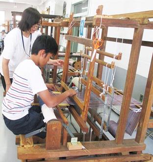 【参加者募集】多摩織「手織り体験」八王子市八幡町