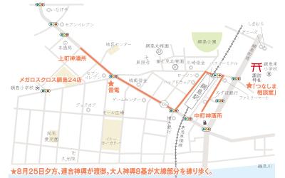 「綱島 諏訪神社例大祭」神輿が神社に集結!!@港北区【8月24日(土)・25日(日)】