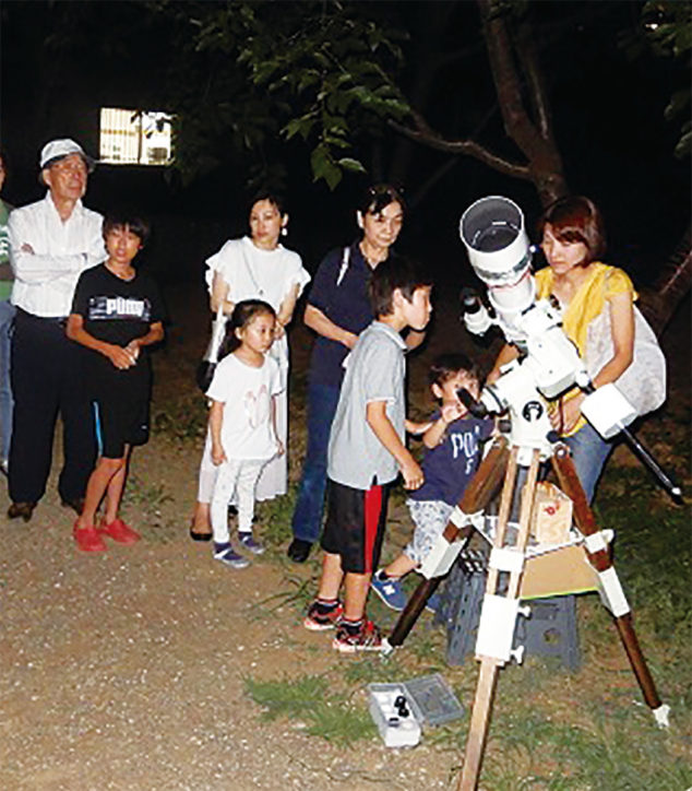参加無料「夏の星空を楽しむつどい」木星や土星を観望しよう@麻生区市民健康の森