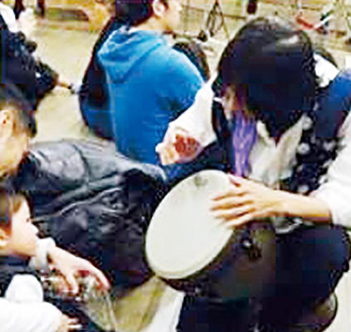 日本と外国の打楽器体験「思う存分大きな声で賑やかに!」@横浜市南区南太田
