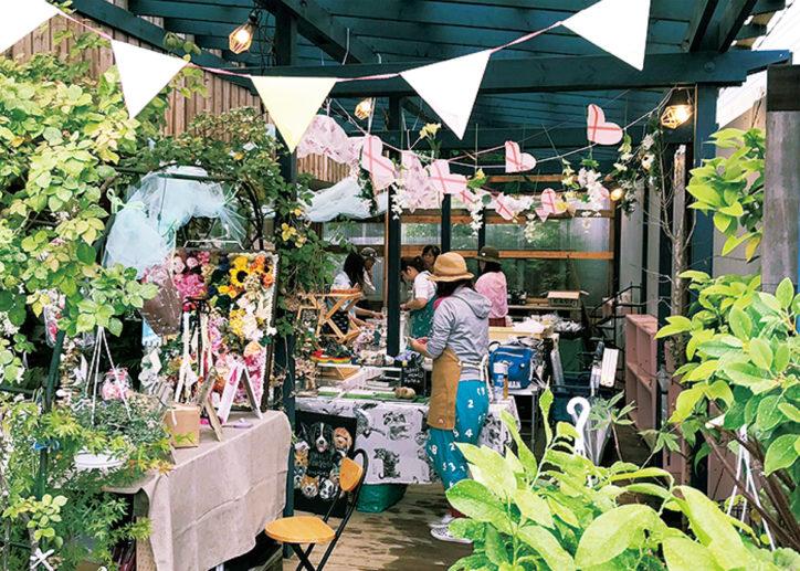 第2回「西海岸マルシェ」小物やアクセサリー、野菜や洋菓子も@平塚市