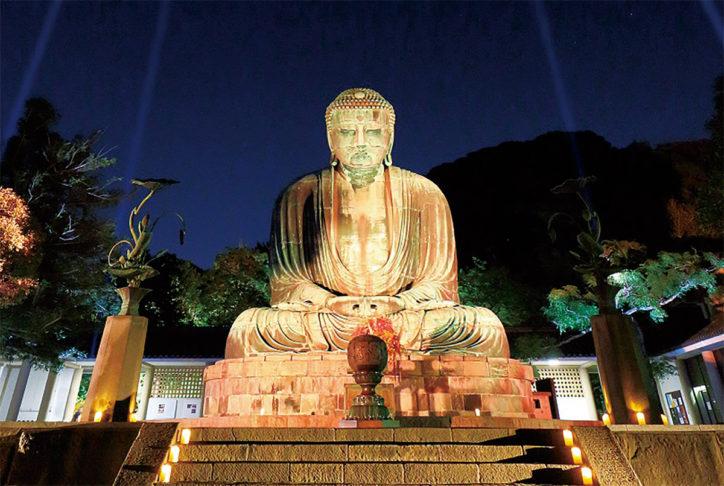 「かまくら長谷の灯かり2019」長谷・極楽寺エリアのライトアップ~今年も8会場で!