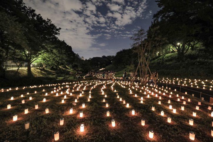 夏をおくるひと時「キャンドルナイト2019」入場無料!【8月31日】@県立保土ケ谷公園