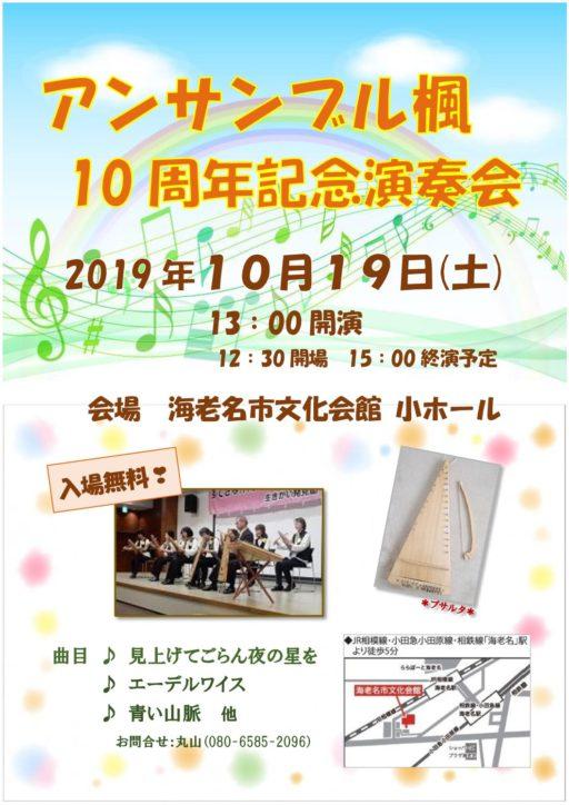三角バイオリン(プサルタ)の演奏会