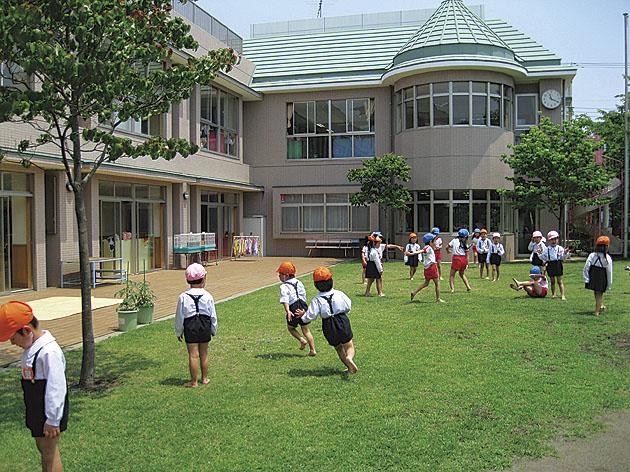 藤沢若葉幼稚園/友達一杯、笑顔も一杯【藤沢市】