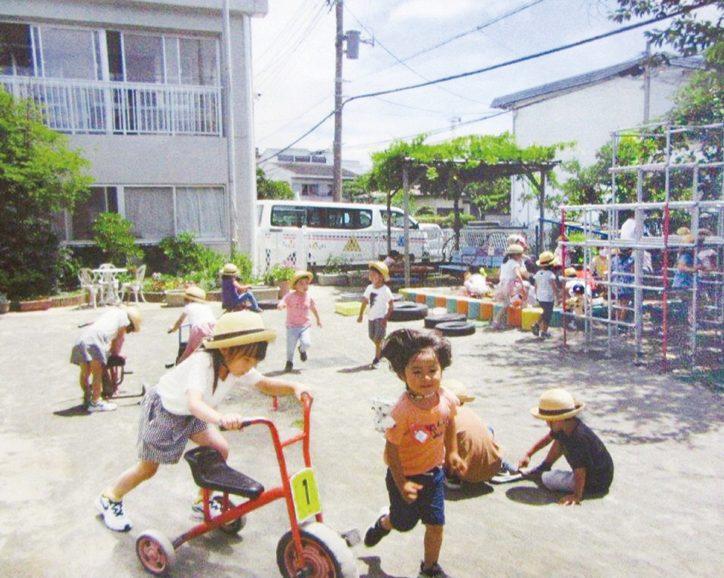 富士幼稚園/大きな自由を子どもに 【藤沢市】