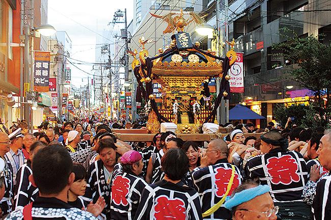 伝統の祭りを楽しもう「町田天満宮秋季例大祭」@東京都町田市
