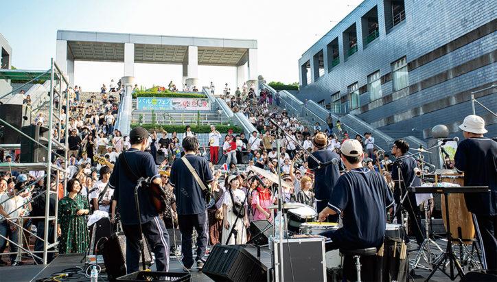 音楽と演劇を楽しむ2日間「パルTAMAフェス in 多摩センター」野外ライブ・マルシェなども【9月14日・15日】