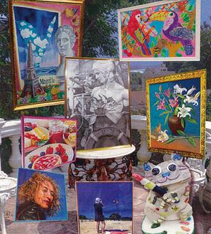 「青い鳥アートスクールとアール・ヴィヴァン」美術展【9月13日~16日】@平塚市美術館