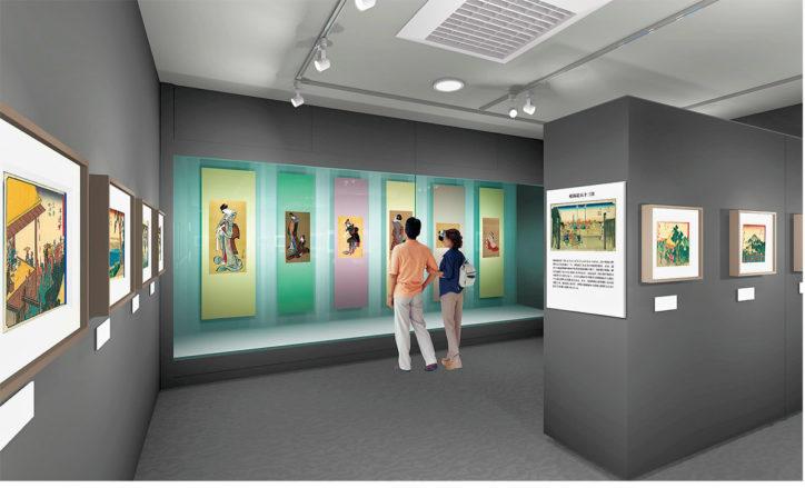 浮世絵文化を川崎から再発信【12月3日】ギャラリー開館