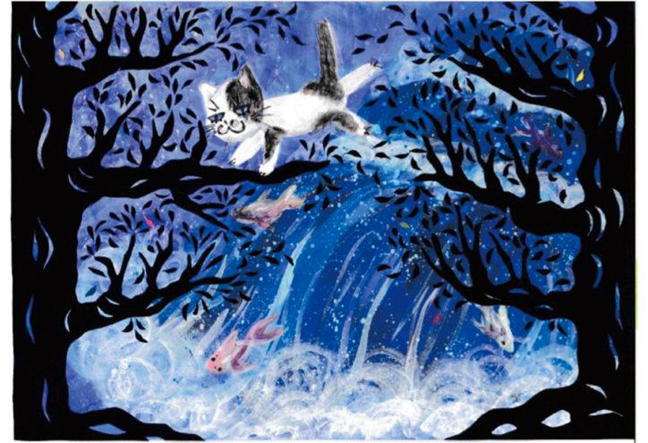 「夢見ヶ崎の夢見る絵本展」原作の立体感を味わって!@コトニアガーデン新川崎