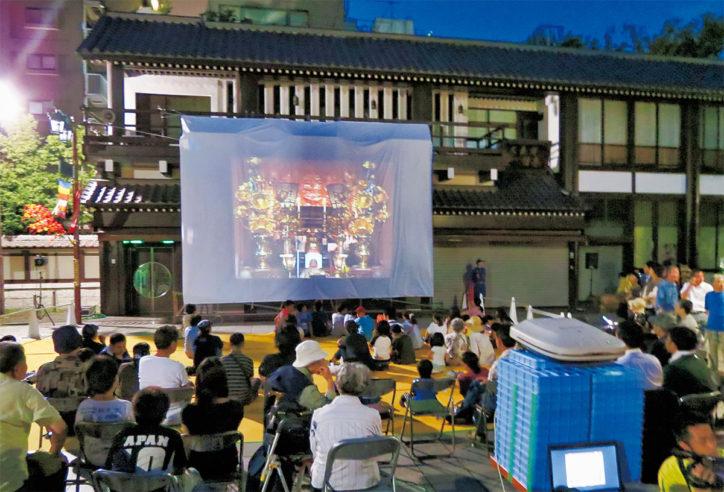 川崎大師で「ゆめシネマ2019」初上映の2作品~地元が題材の映画で地元に愛着を~よさこいも