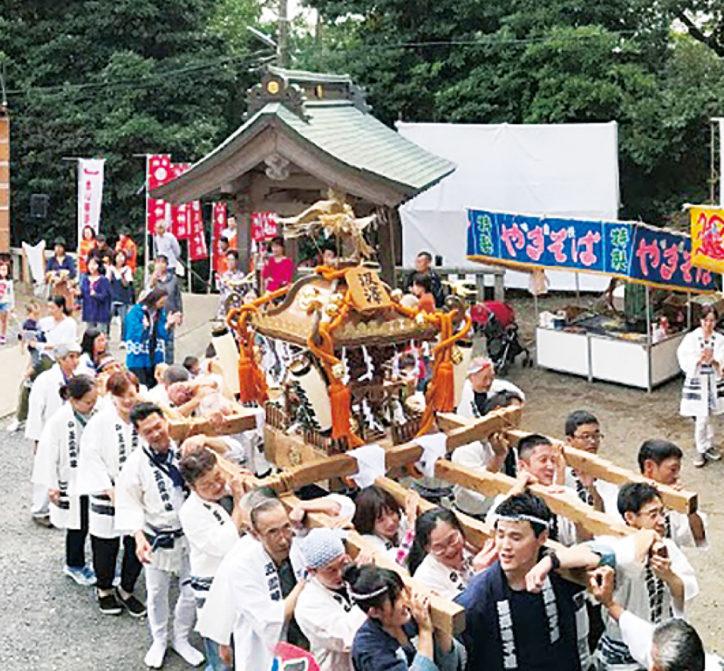 五霊神社で「例大祭」演芸大会や 落語家が登場!@戸塚区