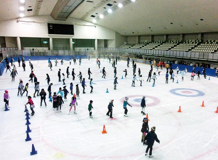 相模原市銀河アリーナスケート場10月オープン!10月5日は終日無料開放!