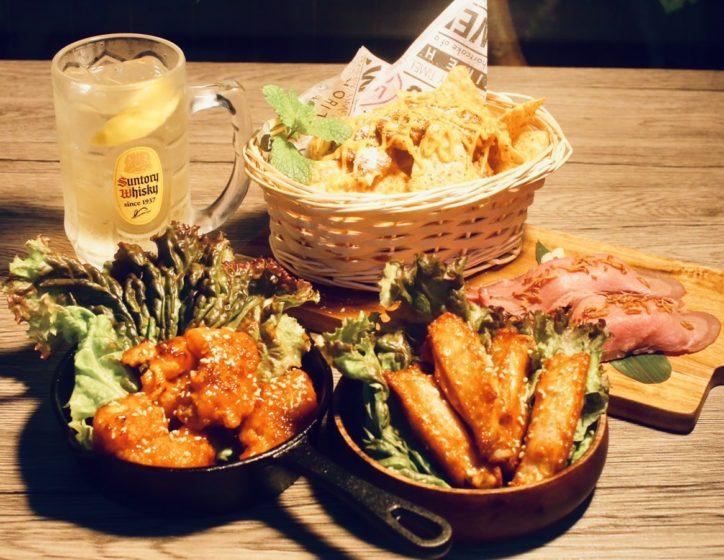 ナチョス付きのお得なおつまみ「タイズカフェ」:秦野でちょい呑みin渋沢