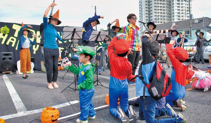 「ハロウィンだよ!登栄会」(川崎市多摩区)10月26日に仮装や模擬店、ステージや抽選会も