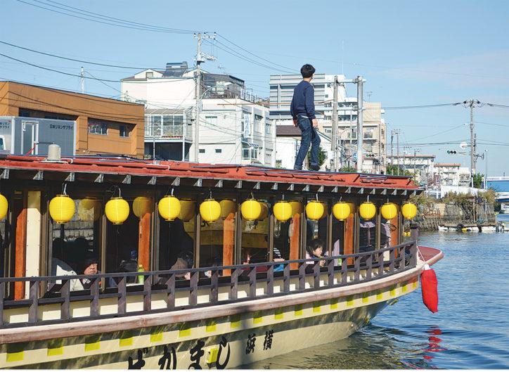 横浜・磯子で屋形船ツアー!堀割川から中村川めぐる