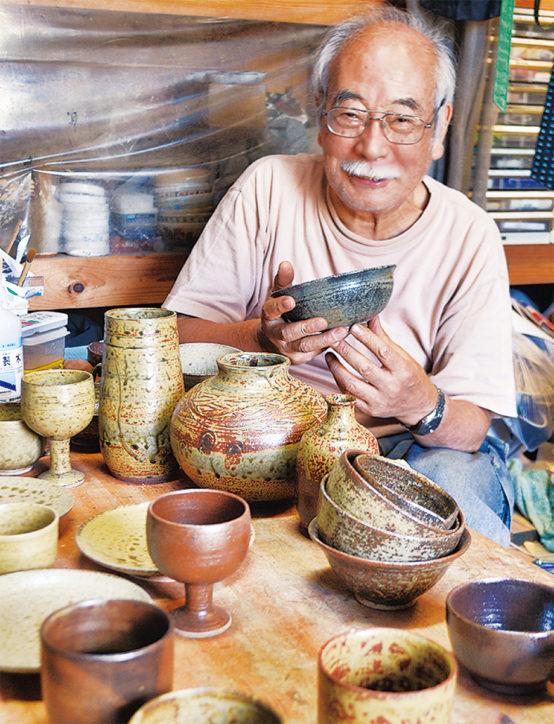 自然の美、陶器に込めて「工房G」の作品展~三浦焼きなど展示販売