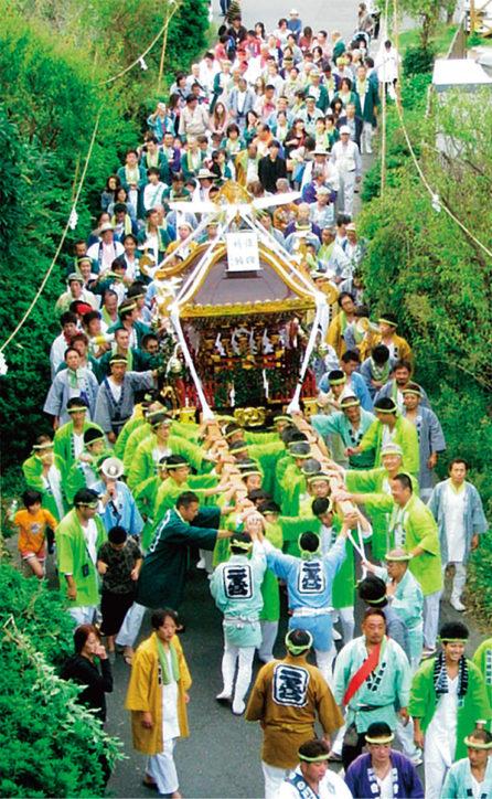 【開催中止】13日に「みそぎ祭」川勾神社の例大祭