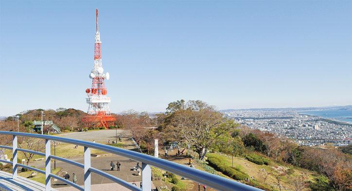 湘南平は開園60周年「愛と虹の架け橋」開催!新フォトスポットを設置【平塚市】