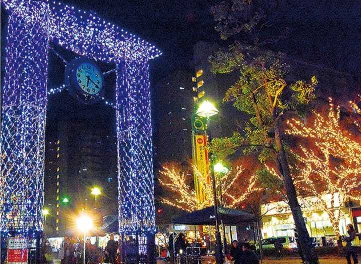 2020年もJR本郷台駅前広場「ほっとイルミネーション」12月4日から点灯!