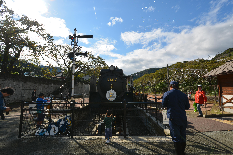 『第20回山北町産業まつり』ご当地キャラ「でごにぃ」の妹が初登場!機関車D52の運行も