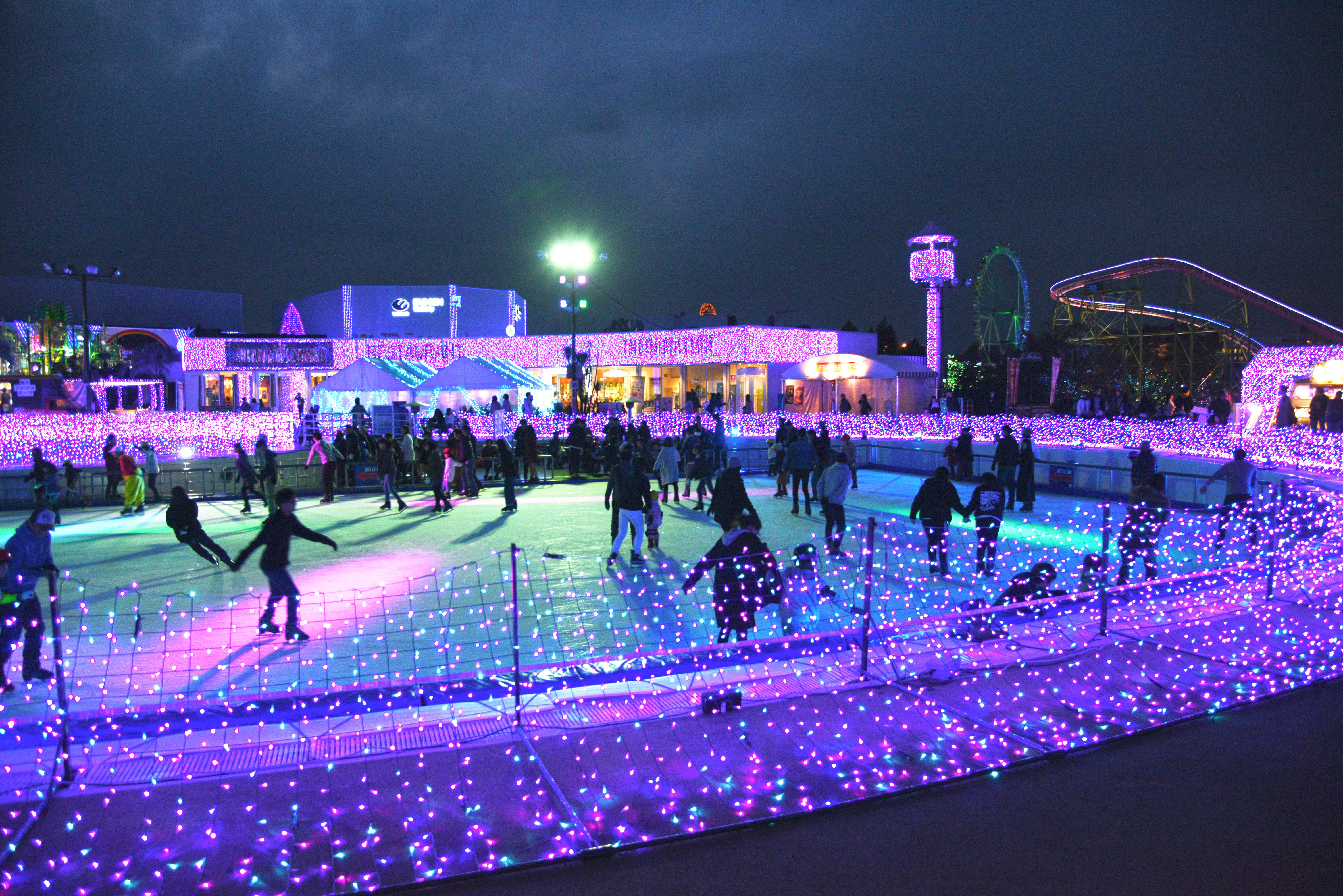 【読プレ付】過去最高の650万球イルミ!スケート・ソリも楽しめる@よみうりランド